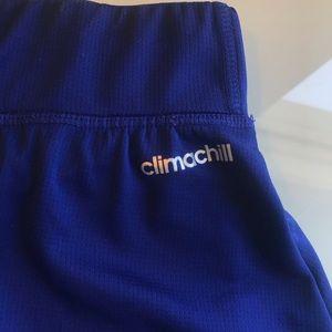 adidas Skirts - Adidas Climachill Royal Blue Mini Tennis Skirt